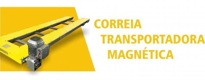 Correia Transportadora Magnética