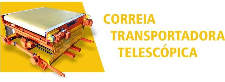 Correia Transportadora Telescópica