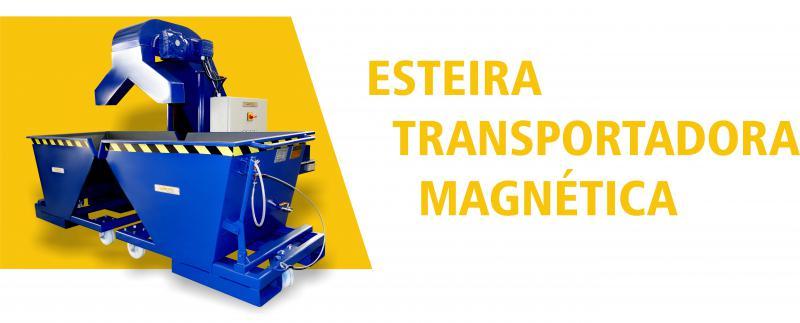 Esteiras Transportadoras Magnéticas