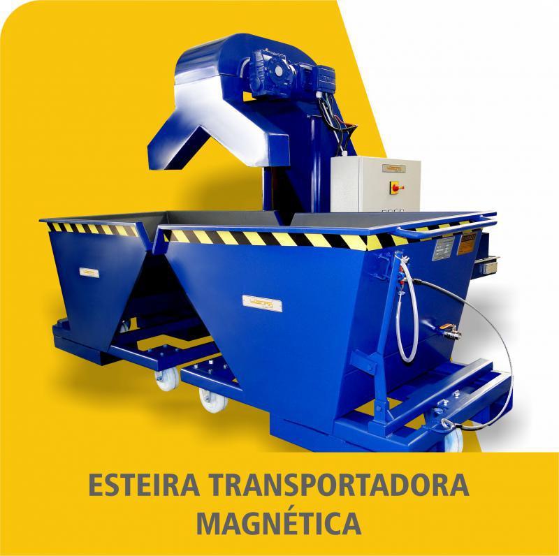 Esteira Transportadora Magnética