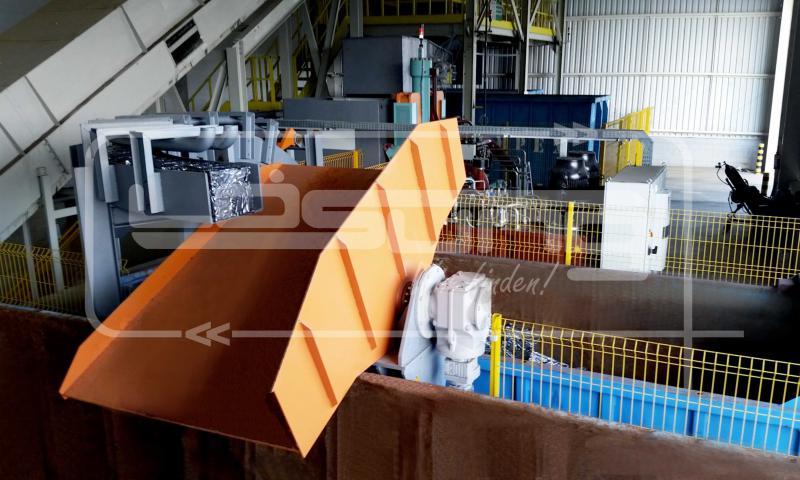 Esteira para transporte de materiais
