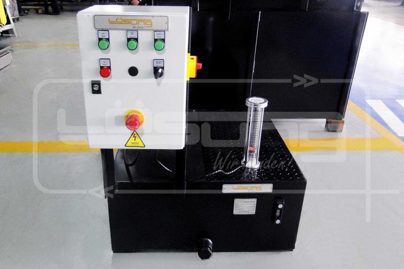 Filtro rotativo industrial