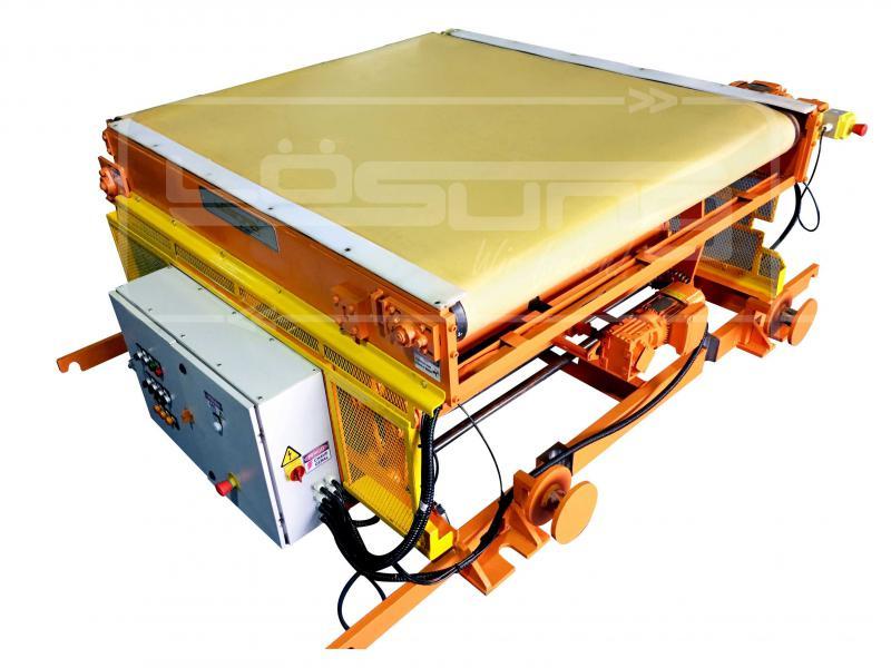 Transportador telescópico