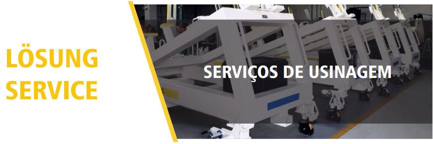 Serviços de Usinagem